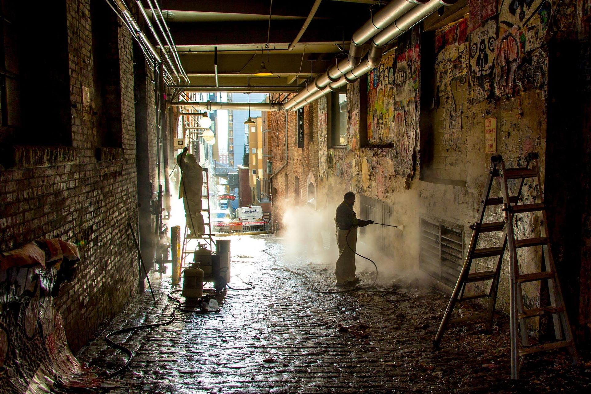 Kimia Gebäudereinigung Dienstleistung Sonderreinigung